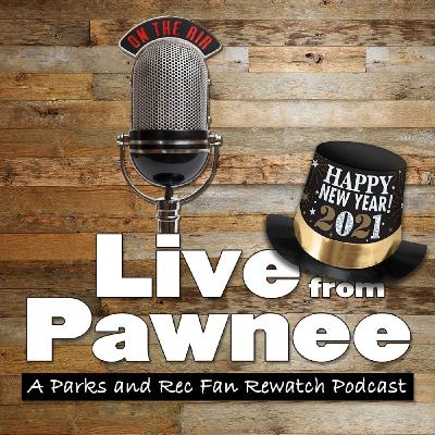 Happy New Year from Ron Swanson and Live from Pawnee!