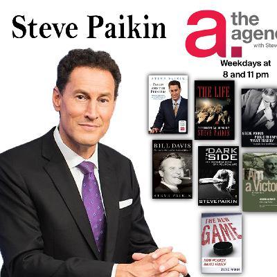 "Harvey Brownstone Interviews Steve Paikin, Host of TV Ontario's ""The Agenda"" and Author"