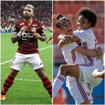 Briga pela Libertadores e São Paulo feminino campeão