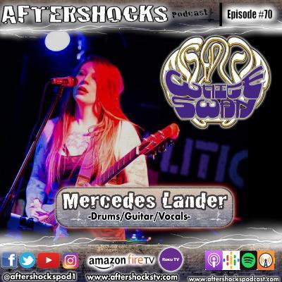 Aftershocks - The White Swan Vocalist / Drummer Mercedes Lander