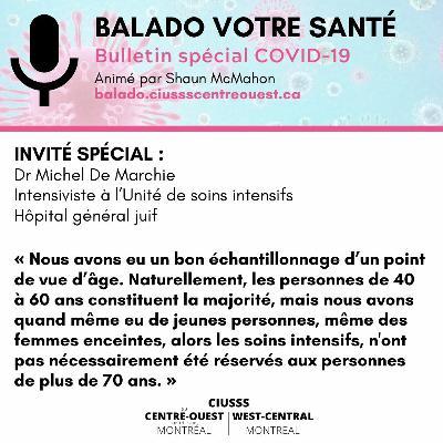 COVID-19 - Dr Michel De Marchie - E049 - Balado Votre Santé