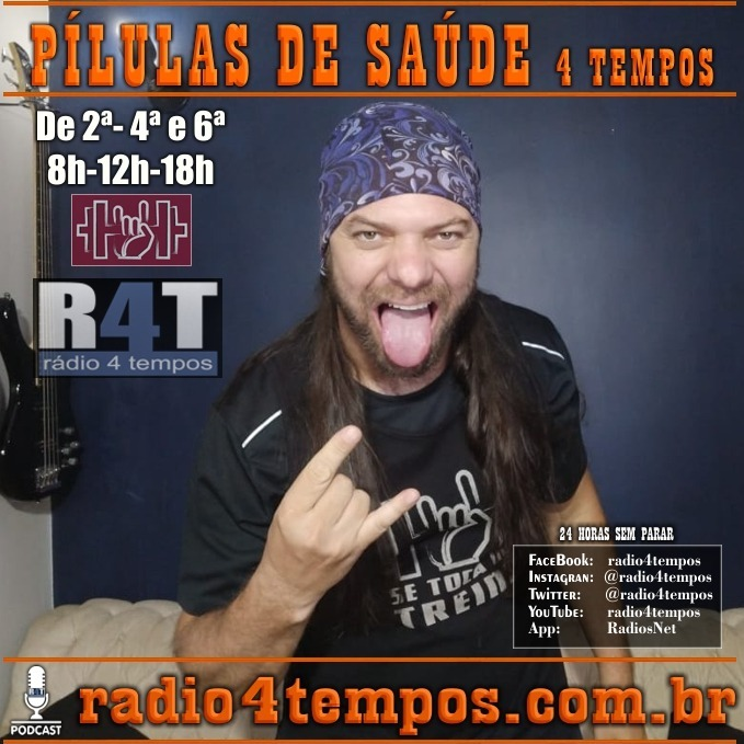 Rádio 4 Tempos - Pílulas de Saúde 123:Itazil Junior