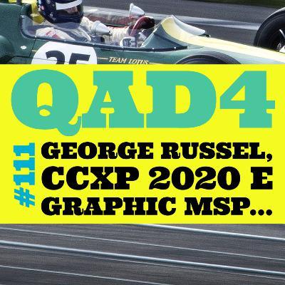#111 - George Russel, CCXP 2020 e Graphic MSP...