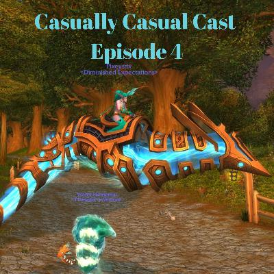 Casually Casual Cast #4 : A World Of Warcraft Podcast! 5 zones, 4 covenants, & 1 Guide NPC!?