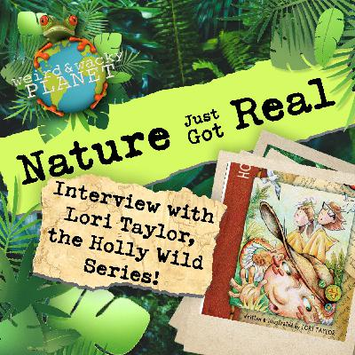 Ep #16 - Interview with Lori Taylor, Author of the Holly Wild Series!