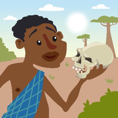 Chatterboxes Beware! - Storytelling Podcast for Kids - The Talking Skull:E108