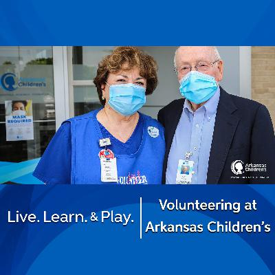 Volunteering at Arkansas Children's