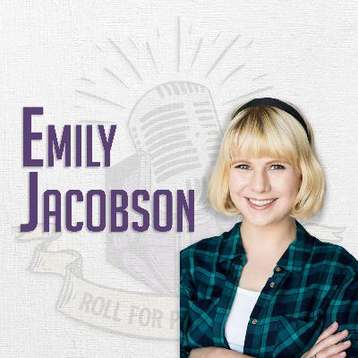 Emily Jacobson Helps Forge Heroes