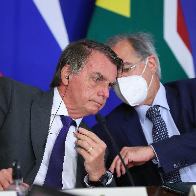 Guedes diz que dólar deveria descer, mas barulho político impede; a terça na CPI da Covid; e Fiocruz libera mais doses