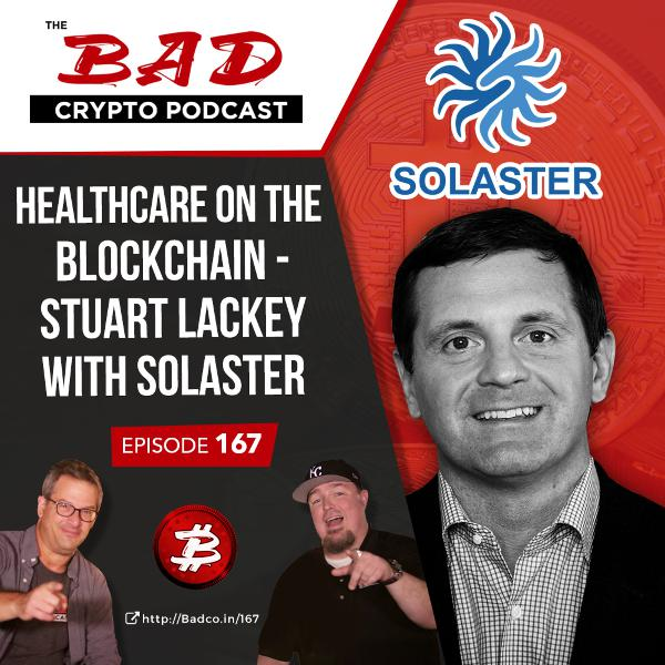 Healthcare on the Blockchain - Stuart Lackey with Solaster