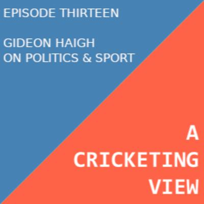 A Conversation with Gideon Haigh about Politics in Sport