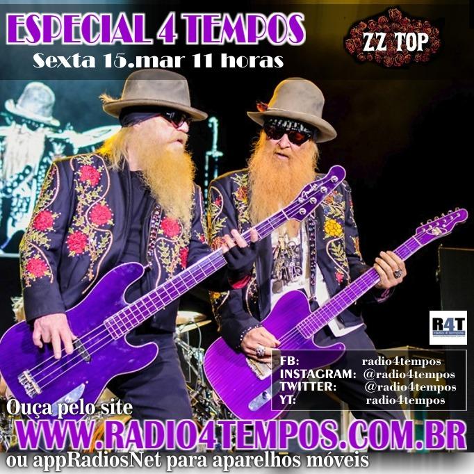 Rádio 4 Tempos - Especial 4 Tempos - ZZ Top