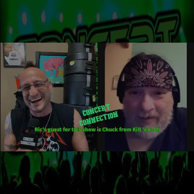 TCC Nov 25 2020 Ric interviews Chuck from Kill 'em All tribute to  Metallica