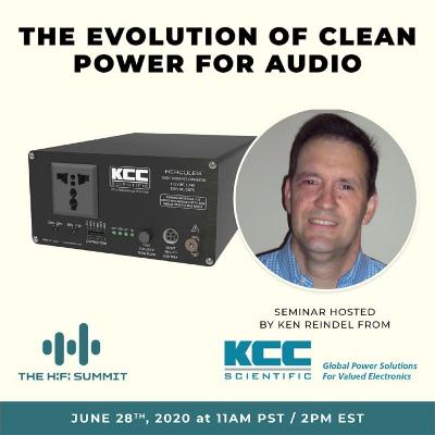 """KCC Scientific   """"The Evolution of Clean Power for Audio: Regeneration to Mains Reconstruction"""""""