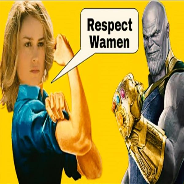 Disney leap frog's feminist as Face of MCU - Trump wrong on Ann Coulter
