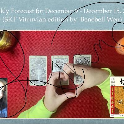 Weekly Forecast for December 9 - 15, 2019