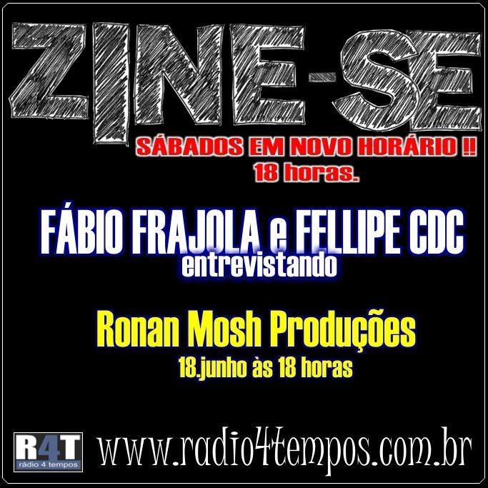 Rádio 4 Tempos - Zine-se 09