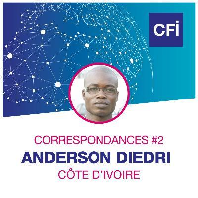 Correspondances #2 - Anderson Diedri, enquêteur au service de la population ivoirienne