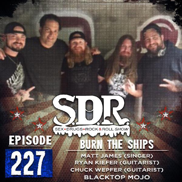 BlackTop Mojo (Matt James, Ryan Kiefer & Chuck Wepfer) - Burn The Ships