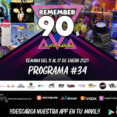 #34 Remember 90s Radio Show by Floid Maicas