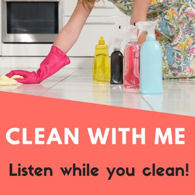 Have Your Cleaning Supplies Handy: Time to Clean!