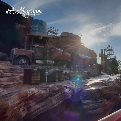 """Studio Tram Tour: Behind the Magic & New Attraction Details """"Cars Route 66"""""""