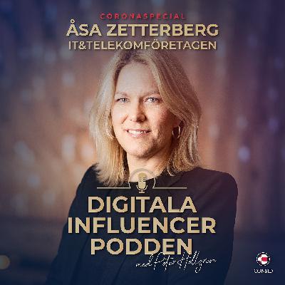 Coronakrisens påverkan på IT- och telekombranschen | Åsa Zetterberg, förbundsdirektör på IT&Telekomföretagen (Coronaspecial)