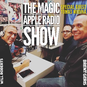 Magic Apple Radio SHOW with guest Magician Tomas Medina!
