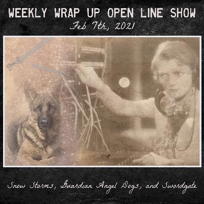 Weekly Wrap up Open Line Show - Feb 7, 2021 - Snow Storms, Guardian Angel Dogs, and Swordgate