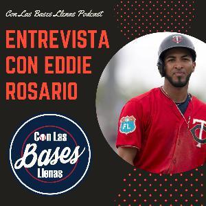 Entrevista con Eddie Rosario de los Mellizos de Minnesota