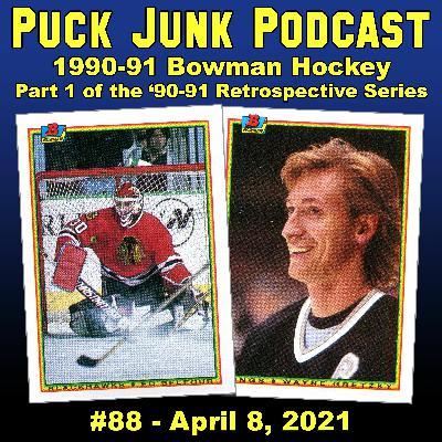 1990-91 Bowman Hockey Cards | #88 | 4/8/2021