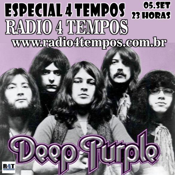 Rádio 4 Tempos - Especial 4 Tempos - Deep Purple