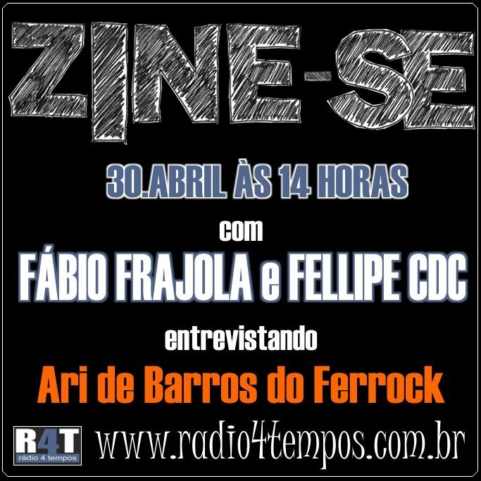 Rádio 4 Tempos - Zine-se 02