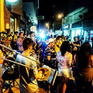 SoundScapes of the Street Performances preceding 'El festival departamental de bandas musicales manicipales'.