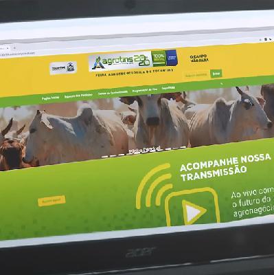Por causa da pandemia, feiras agropecuárias migram para o digital