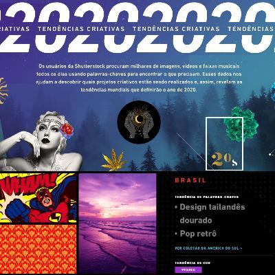 Tendências 2020: criatividade, design e inspiração - parte I