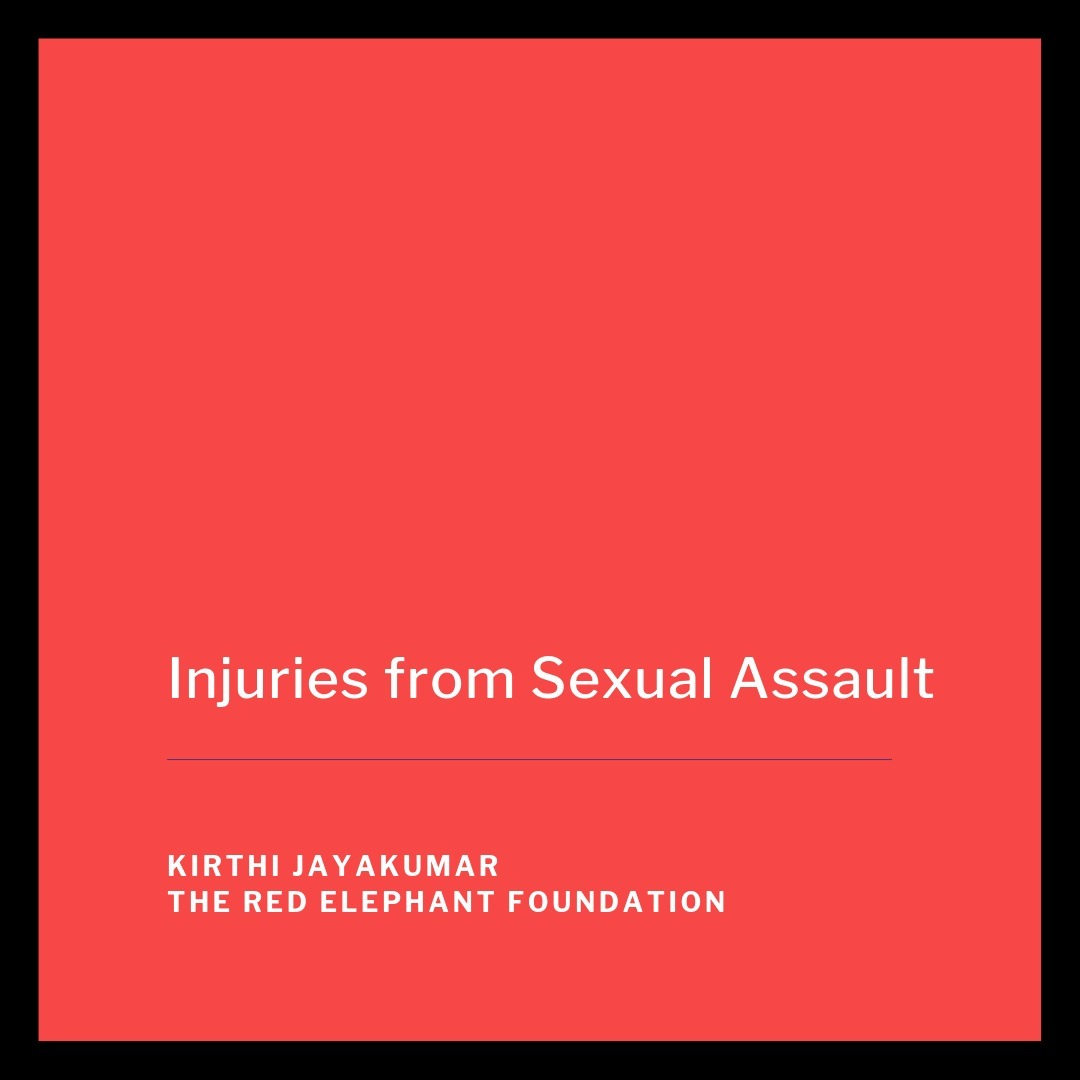 Episode 13 - Injuries from Sexual Assault