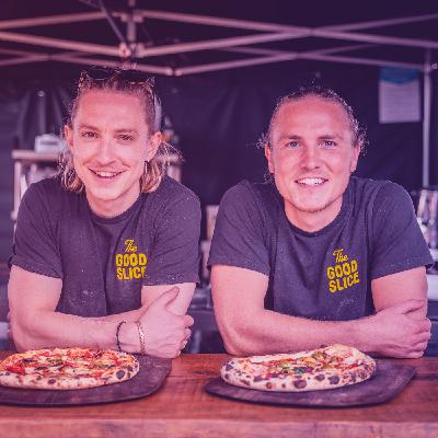 Interview with the founders of The Good Slice - Pizza with a purpose (ENGLISH)