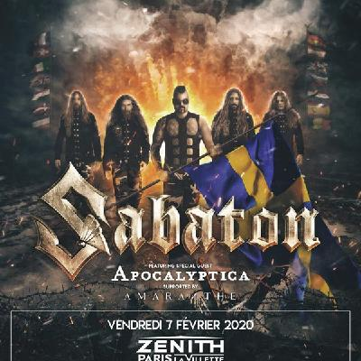 213Rock Harrag Melodica Interview with Joakim Broden Sabaton The Great Tour 12 02 2020