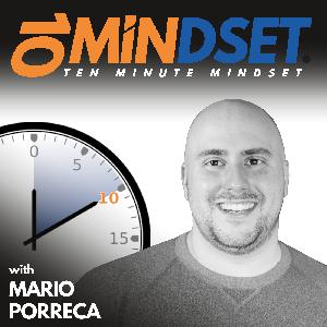 551 Less into Thinking and More into Feeling with Special Guest Dawn Bates | 10 Minute Mindset
