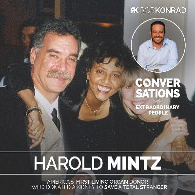 001. The man who gave his kidney to a stranger: Harold Mintz