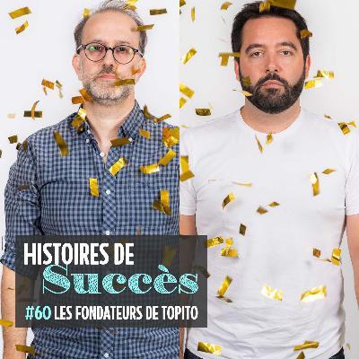 """Laurent et Benoît (Topito), des """"artisans du web"""""""