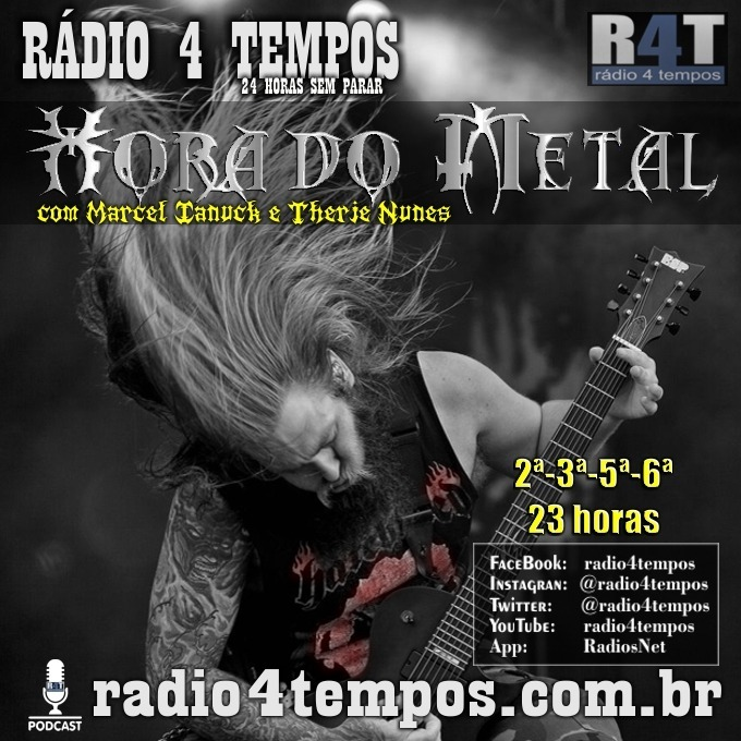 Rádio 4 Tempos - Hora do Metal 176:Marcel Ianuck e Therje Nunes