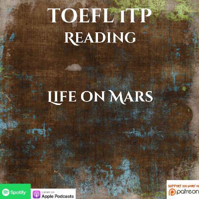 TOEFL iTP | Reading | Life on Mars!