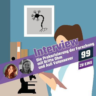 8.3 - Die Prekarisierung der Forschung mit Britta Ohm und Asli Vatansever