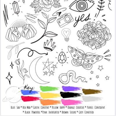 Mood Tracker || Journaling With Bree