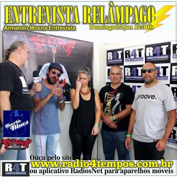 Rádio 4 Tempos - Entrevista Relâmpago 55