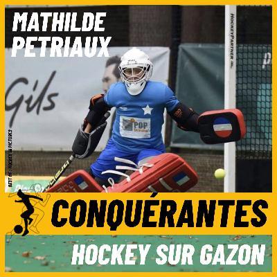 Mathilde, « le mur » de l'équipe de France de hockey sur gazon