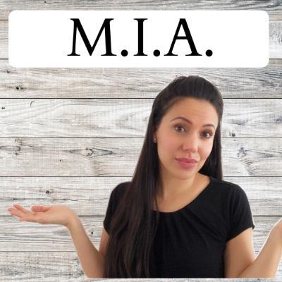 I've been M.I.A. !