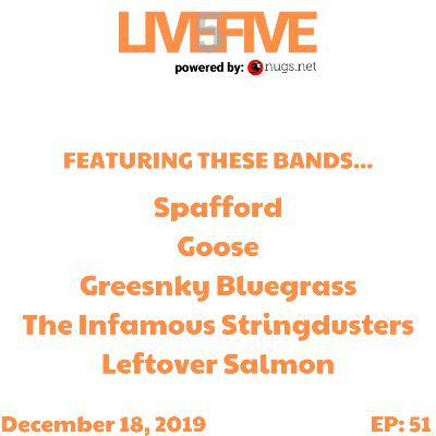 Live 5 - December 18, 2019.
